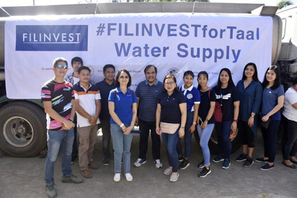 Filinvest support Taal